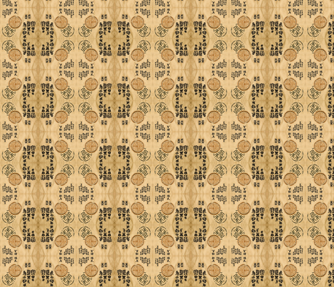 Chinese Seal fabric by flyingfish on Spoonflower - custom fabric