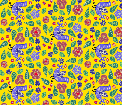 YellowBaby fabric by yellowstudio on Spoonflower - custom fabric