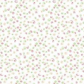 Ditsy swirls