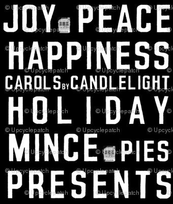 Christmas Tram Scrolls