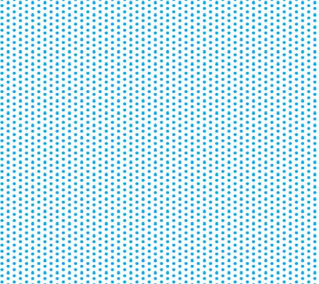 Cyan Ditsy Polka Dot fabric by melodiemw on Spoonflower - custom fabric