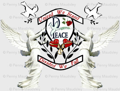 UNITED WE STAND FAMILY CREST