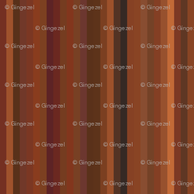 Glowing Autumn Multistripe © Gingezel™ 2012