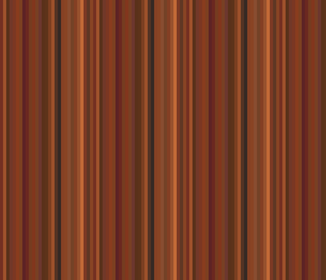 Glowing Autumn Multistripe © Gingezel™ 2012 fabric by gingezel on Spoonflower - custom fabric