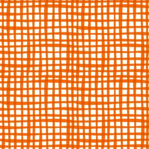 MoooCycles - Hogs & Kisses Orange Gingham