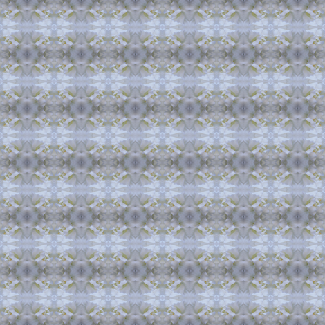 Gorgeous white flower fabric by greennote on Spoonflower - custom fabric