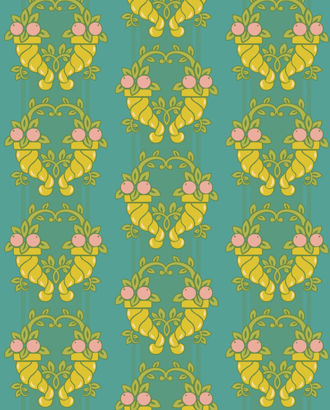 ardeco1-04-01 fabric by katja_saburova on Spoonflower - custom fabric