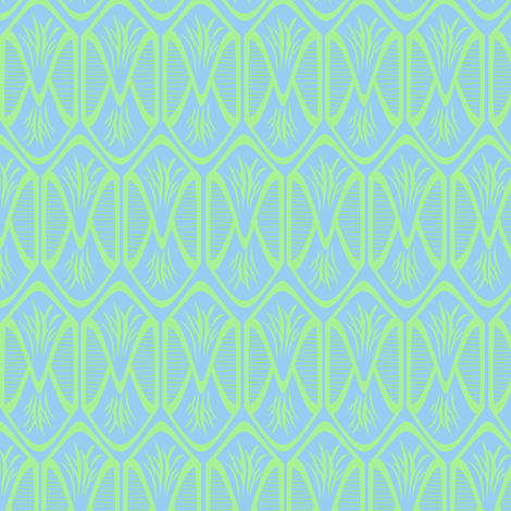 Envelope fabric by beaulle on Spoonflower - custom fabric