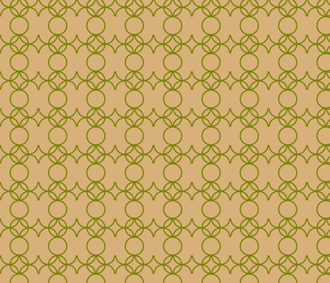 Iron-y_in_sand fabric by goldentangerinedesigns on Spoonflower - custom fabric