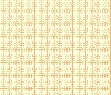 Ironspecs_in_mint fabric by goldentangerinedesigns on Spoonflower - custom fabric