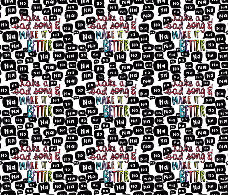 Make_It_Better fabric by kressie on Spoonflower - custom fabric