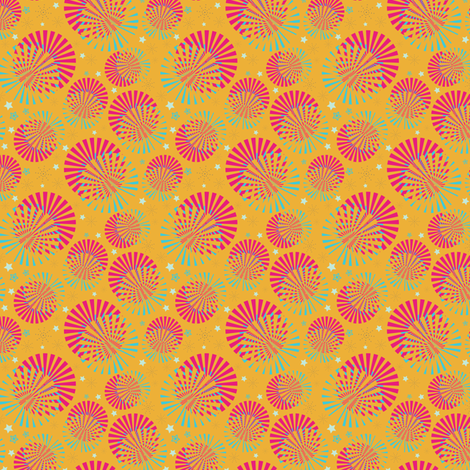 Summer Carnival fabric by eppiepeppercorn on Spoonflower - custom fabric