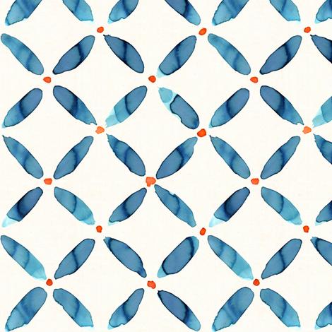 Water Lattice fabric by alicia_vance on Spoonflower - custom fabric