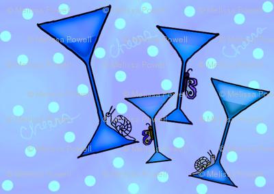 blue cheers fabric