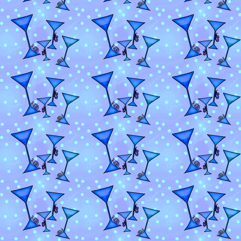 blue cheers fabric fabric by lissame73 on Spoonflower - custom fabric