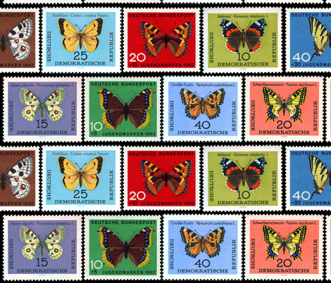 butterfly_stamps_2 fabric by mysticalarts on Spoonflower - custom fabric