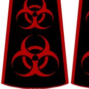 Cut-and-sew biohazard bouffant skirt