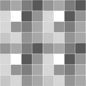 Squares in grey