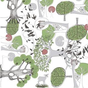 Wild Wood - Olive
