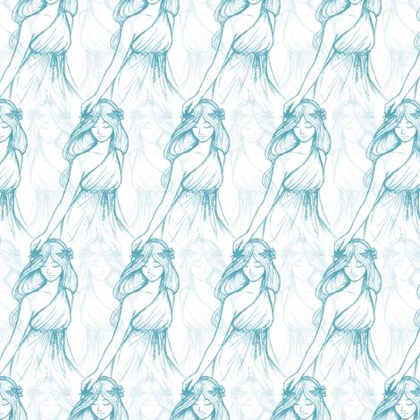 Mother-Daughter fabric by siya on Spoonflower - custom fabric
