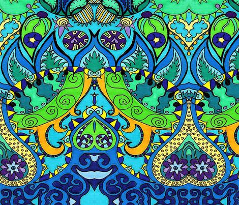 Wetlands fabric by periwinklepaisley on Spoonflower - custom fabric