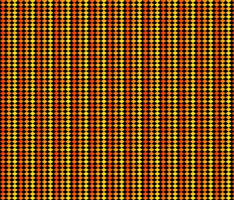 Harley Quinn - Hot Hot Heat fabric by tequila_diamonds on Spoonflower - custom fabric