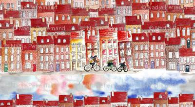 city on bike