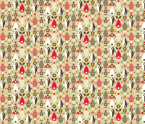 Pip 2 fabric by mondaland on Spoonflower - custom fabric