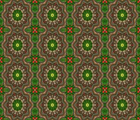 Beautiful Garden fabric by anniedeb on Spoonflower - custom fabric