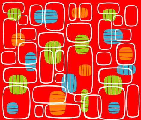 ALIEN INSECTS 07 fabric by deeniespoonflower on Spoonflower - custom fabric