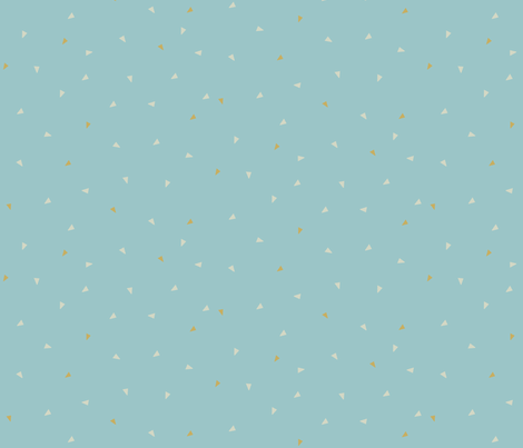 pattern indian confetti blue fabric by indieish on Spoonflower - custom fabric