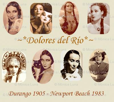 Dolores del Río vintage photography