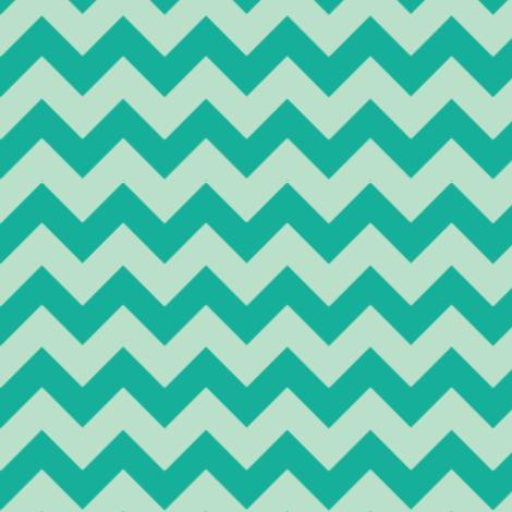 Ziggy Milo Mint fabric by natitys on Spoonflower - custom fabric