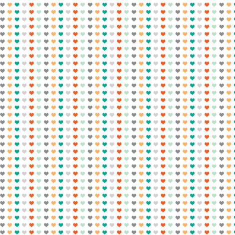 Milo Hearts fabric by natitys on Spoonflower - custom fabric