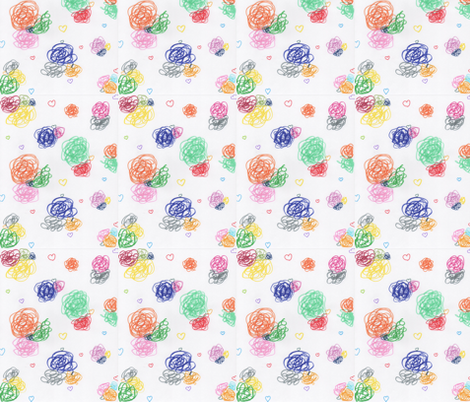Around and around-ed fabric by anniefashiondesign on Spoonflower - custom fabric