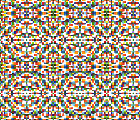 Kaleidoscope 1 fabric by greennote on Spoonflower - custom fabric