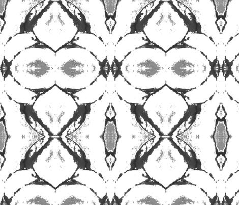amaryllis grey  fabric by hipfifty on Spoonflower - custom fabric