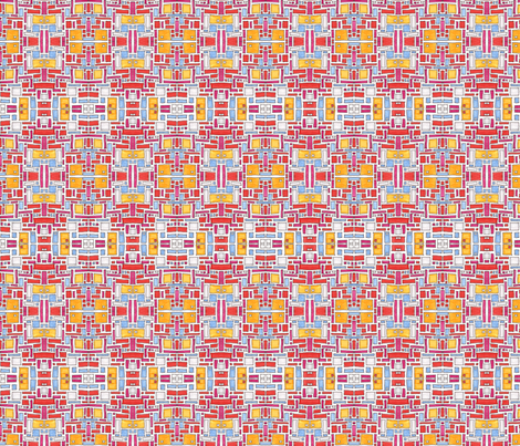 rectangles fabric by kcs on Spoonflower - custom fabric