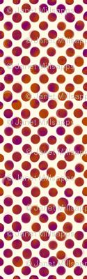 Small Magenta and Orange Dots