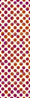 Large Magenta and Orange Dots