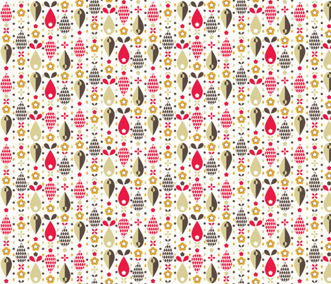 Pip 3 fabric by mondaland on Spoonflower - custom fabric