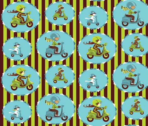 motorace-0-01 fabric by katja_saburova on Spoonflower - custom fabric