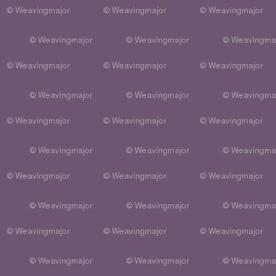 solid Hypatian violet (6D5672)