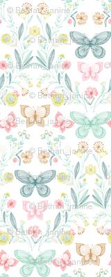 botanical butterflies