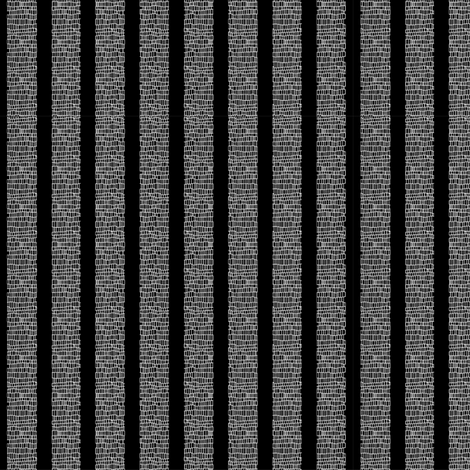 Black Stripe fabric by maplewooddesignstudio on Spoonflower - custom fabric