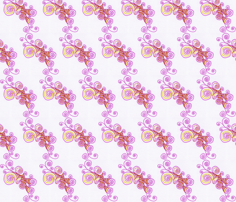 pink_doodle_2 fabric by ljpg on Spoonflower - custom fabric