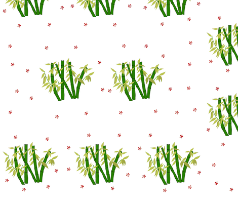 bamboo_copy fabric by arnie on Spoonflower - custom fabric