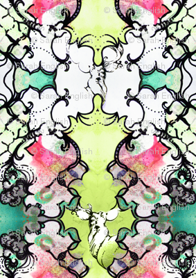 Kaleidoscope Deer