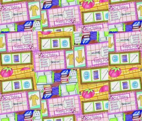Sew Today fabric by chovy on Spoonflower - custom fabric