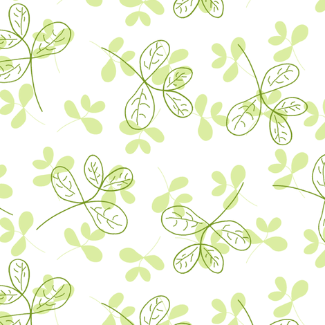 Lucky Jade fabric by inscribed_here on Spoonflower - custom fabric